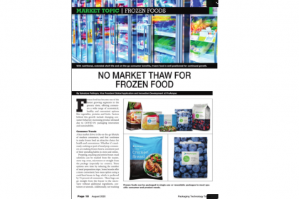 No Market Thaw for Frozen Food