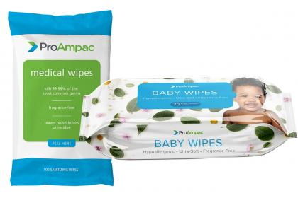Wipes packaging