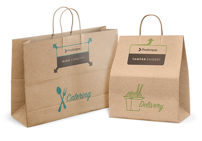 Delivery, Carry Out, Catering and Tamper-Evident Bags